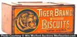 Tiger Biscuits Box