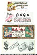Vintage Gum Blotters