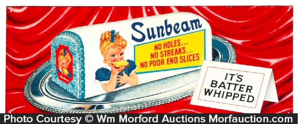 Sunbeam Bread Sign