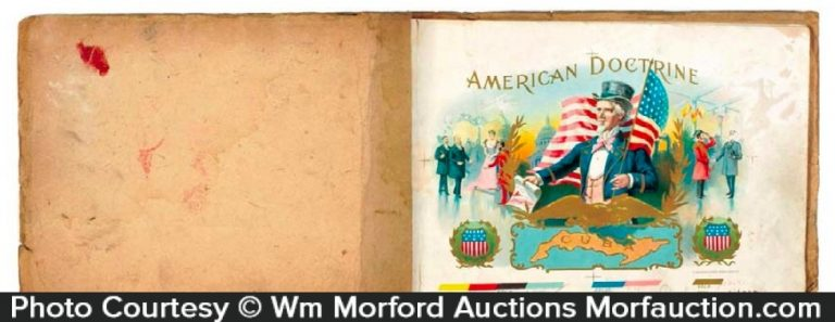 American Doctrine Cigars Booklet
