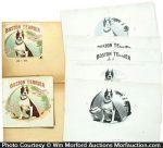 Boston Terrier Cigar Labels Book