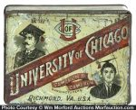 University Of Chicago Tobacco Tin