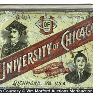 University Of Chicago Tobacco Tin