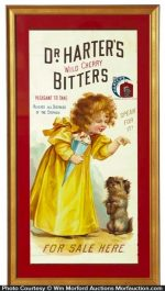Dr. Harter's Cherry Bitters Sign