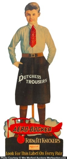 Aero-Bocker Dutch Trousers Sign