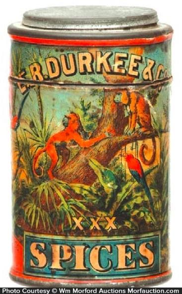 Durkee Spice Tin