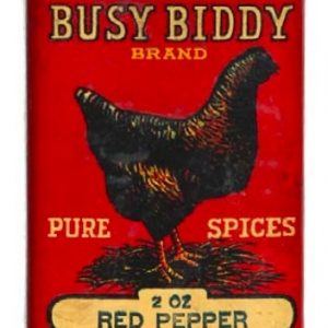 Busy Biddy Pure Spice Tin