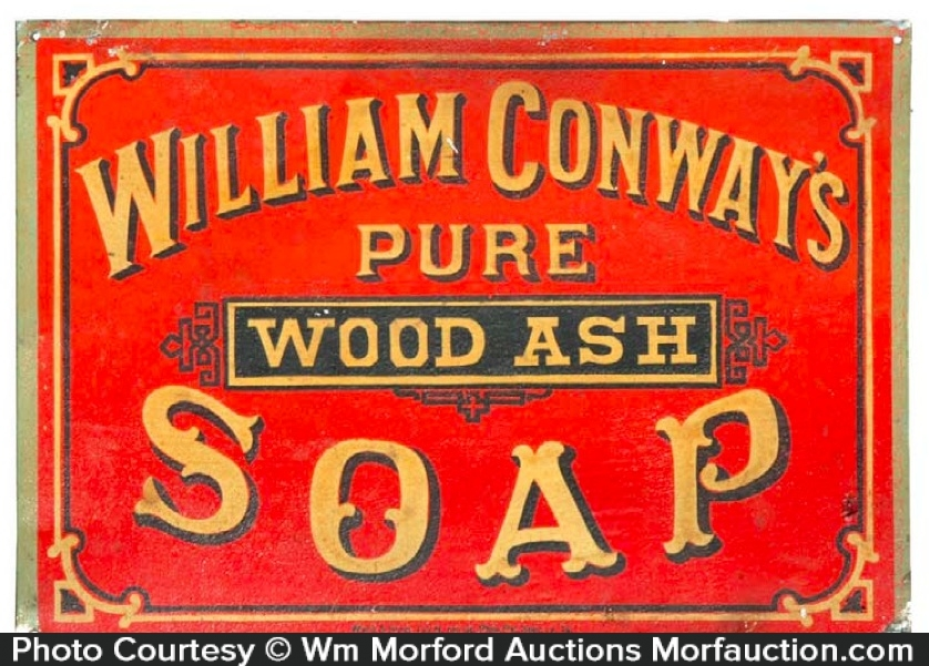 William Conway's Soap Sign