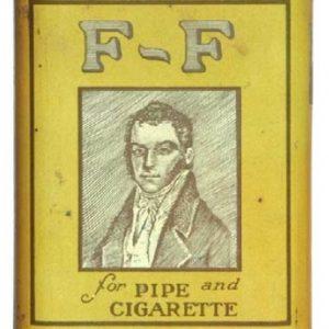F-F Tobacco Tin