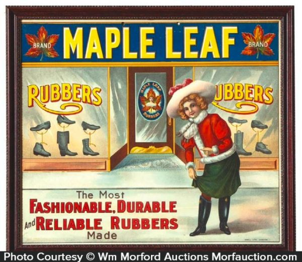 Maple Leaf Rubbers Sign