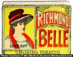 Richmond Belle Tobacco Tin