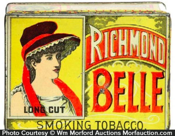 Richmond Belle Tobacco Tin