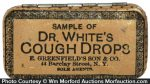 White's Cough Drop Tin