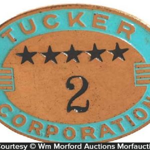 Tucker Corporation Badge