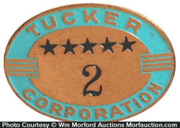 Tucker Corporation Badge