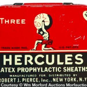 Hercules Condom Tin