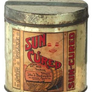 Sun Cured Tobacco Tin