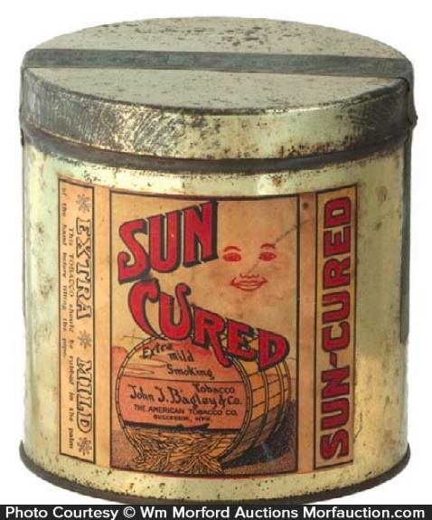 Sun Cured Tobacco Tin