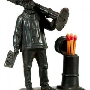 Chimney Sweep Match Holder