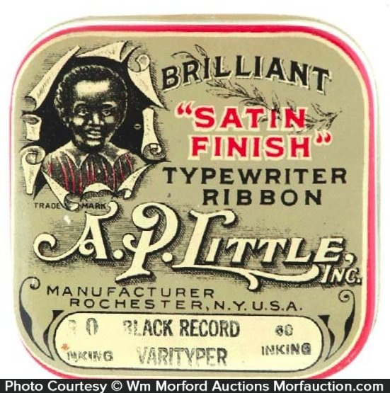 A.P. Little Satin Finish Ribbon Tin