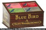 Blue Bird Handkerchiefs Display