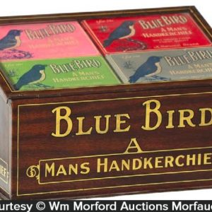 Blue Bird Handkerchiefs Display