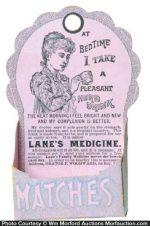 Lane's Medicine Match Holder