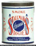 Stallman's Stogies Tin