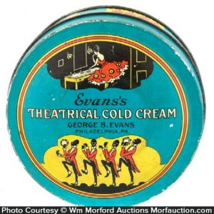 Theatrical Cold Cream Tin