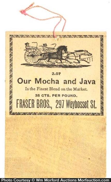 Fraser Bros. Coffee Match Striker