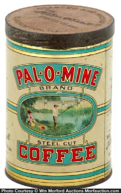 Pal-O-Mine Coffee Tin