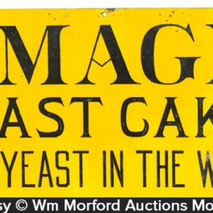 Magic Yeast Cakes Sign