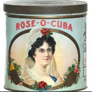 Rose-O-Cuba Cigar Can