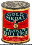 Gold Medal Peanut Butter Tin