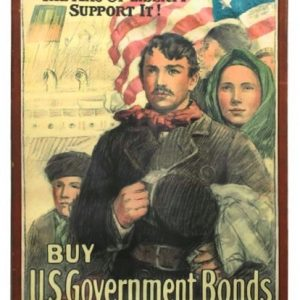 U.S. Government War Bonds Poster