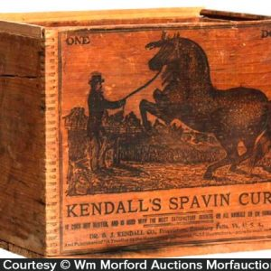 Kendall's Spavin Cure Box