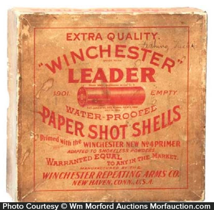 Winchester Leader Shot Shells Box