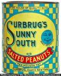 Surbrug's Sunny South Peanuts Tin