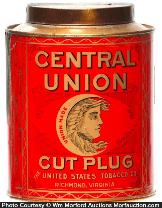 Central Union Tobacco Can