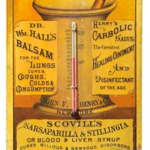 Scovill's Sarsaparilla Sign
