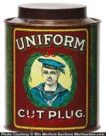 Uniform Tobacco Can