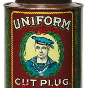 Uniform Tobacco Can