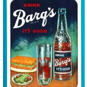 Barq's Soda Sign