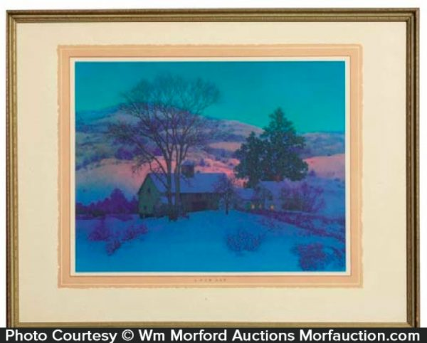 Maxfield Parrish New Day Print