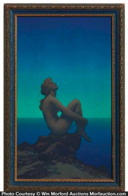 Maxfield Parrish Stars Art Print