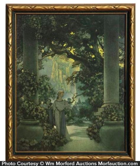 Maxfield Parrish 1912 Land Of Make-Believe