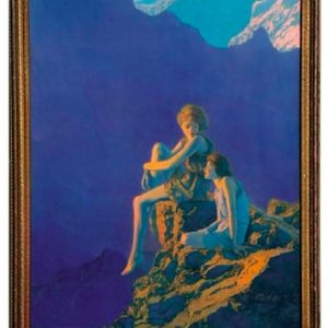Maxfield Parrish Contentment Calendar