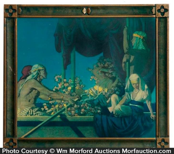 Maxfield Parrish Cleopatra Print