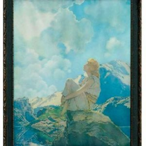 Maxfield Parrish Morning Print