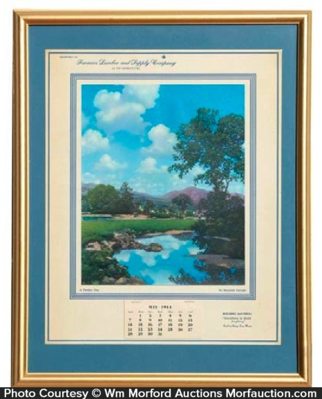 Maxfield Parrish Perfect Day Calendar